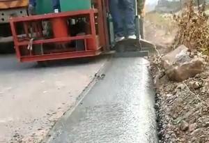 水泥砼路肩成型机