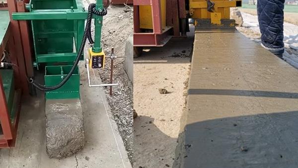 水泥砼路肩自走成型机,路肩机