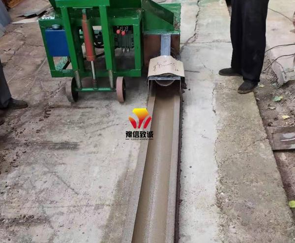 混凝土沟槽滑模机