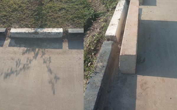 公路拦水带形状